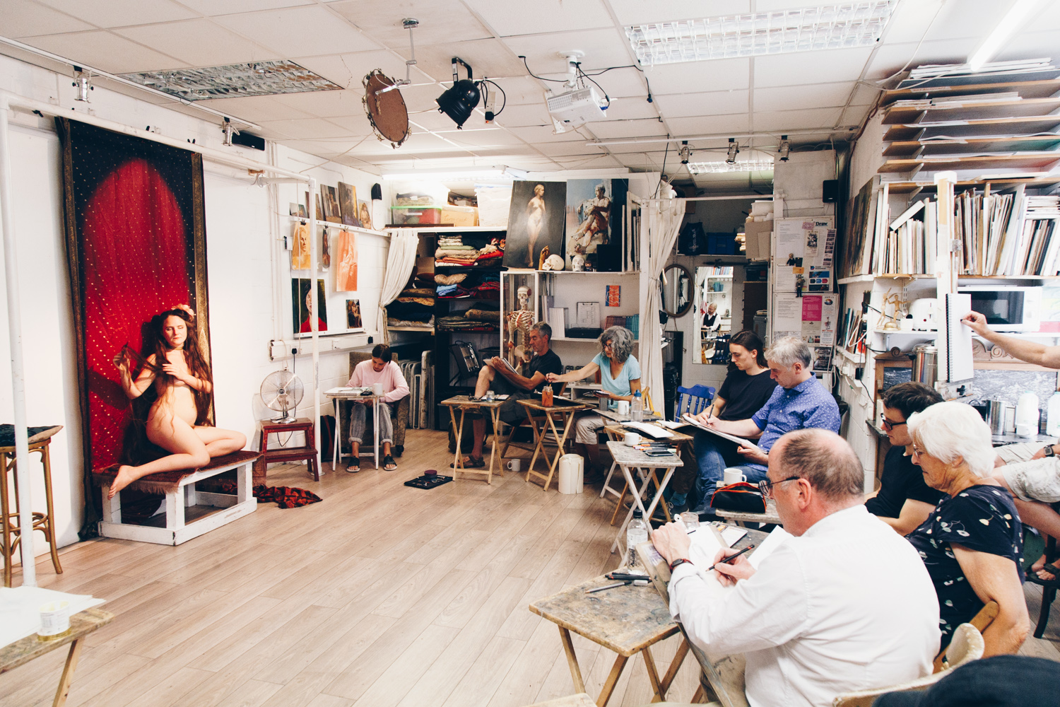 Life Drawing at the Draw Studio