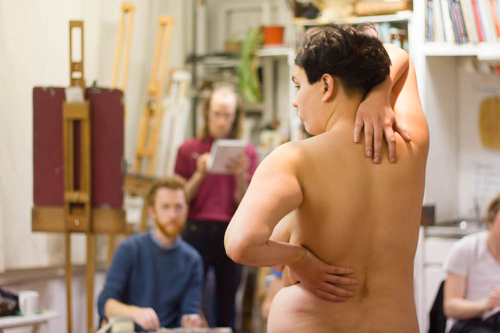 Life Drawing in the Draw studio